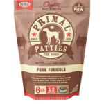 Primal Pet Foods Primal Dog Frozen Pork Patties 6#