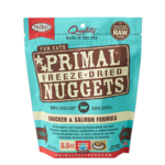 Primal Pet Foods Primal Cat Freeze-dried Chicken/Salmon 5.5 OZ