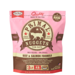 Primal Pet Foods Primal Cat Frozen Beef/Salmon 3#