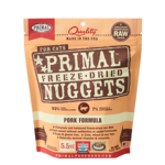 Primal Pet Foods Primal Cat Freeze-dried Pork 5.5 OZ