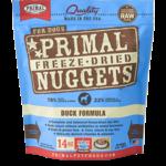 Primal Pet Foods Primal Dog Freeze-dried Duck Nuggets 14 OZ