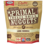 Primal Pet Foods Primal Dog Freeze-dried Lamb Nuggets 14 OZ