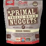 Primal Pet Foods Primal Dog Freeze-dried Venison Nuggets 14 OZ
