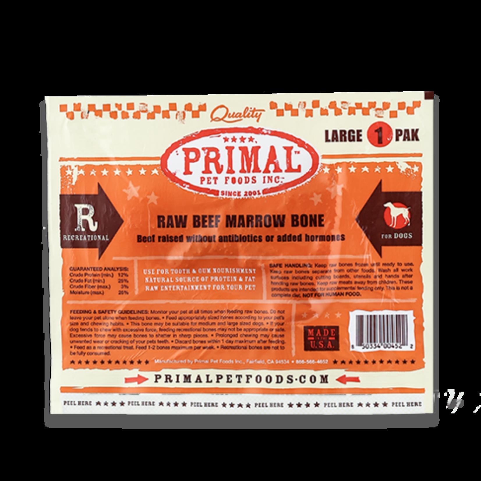 Primal Pet Foods Primal Frozen Raw Beef Bone Large