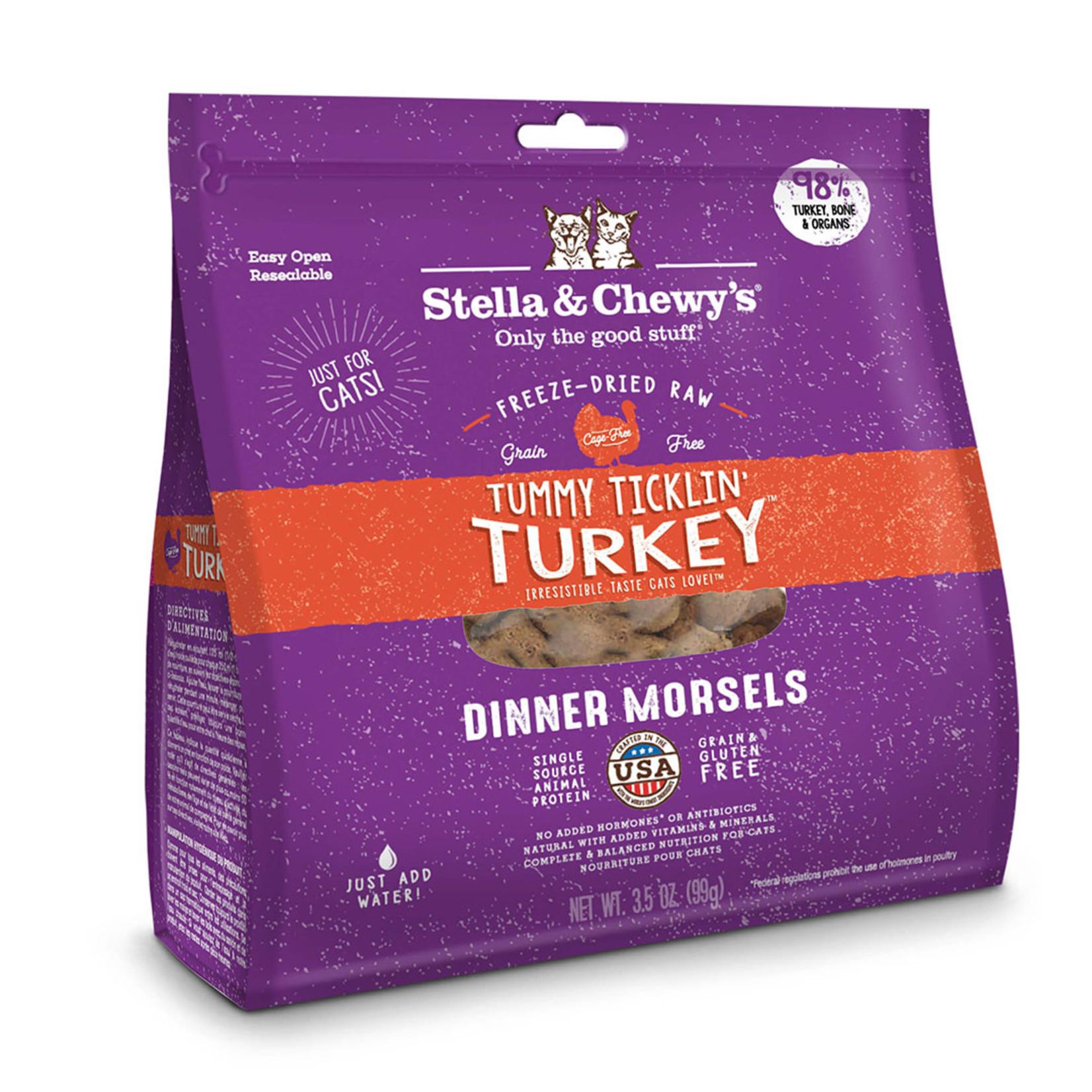 Stella & Chewys Stella Freeze-dried Cat Dinner Turkey 9 OZ