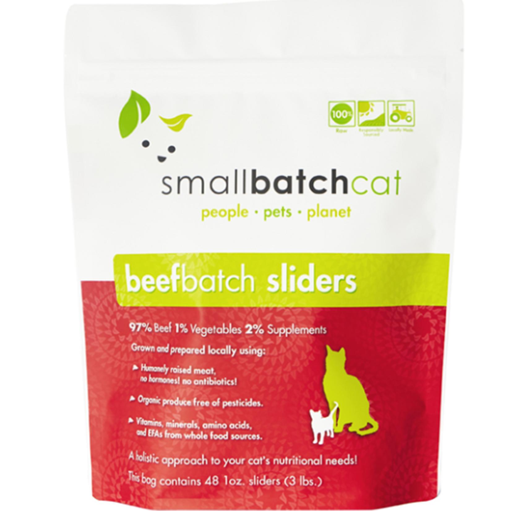 Small Batch Small Batch Cat Frozen Beef Sliders 3#
