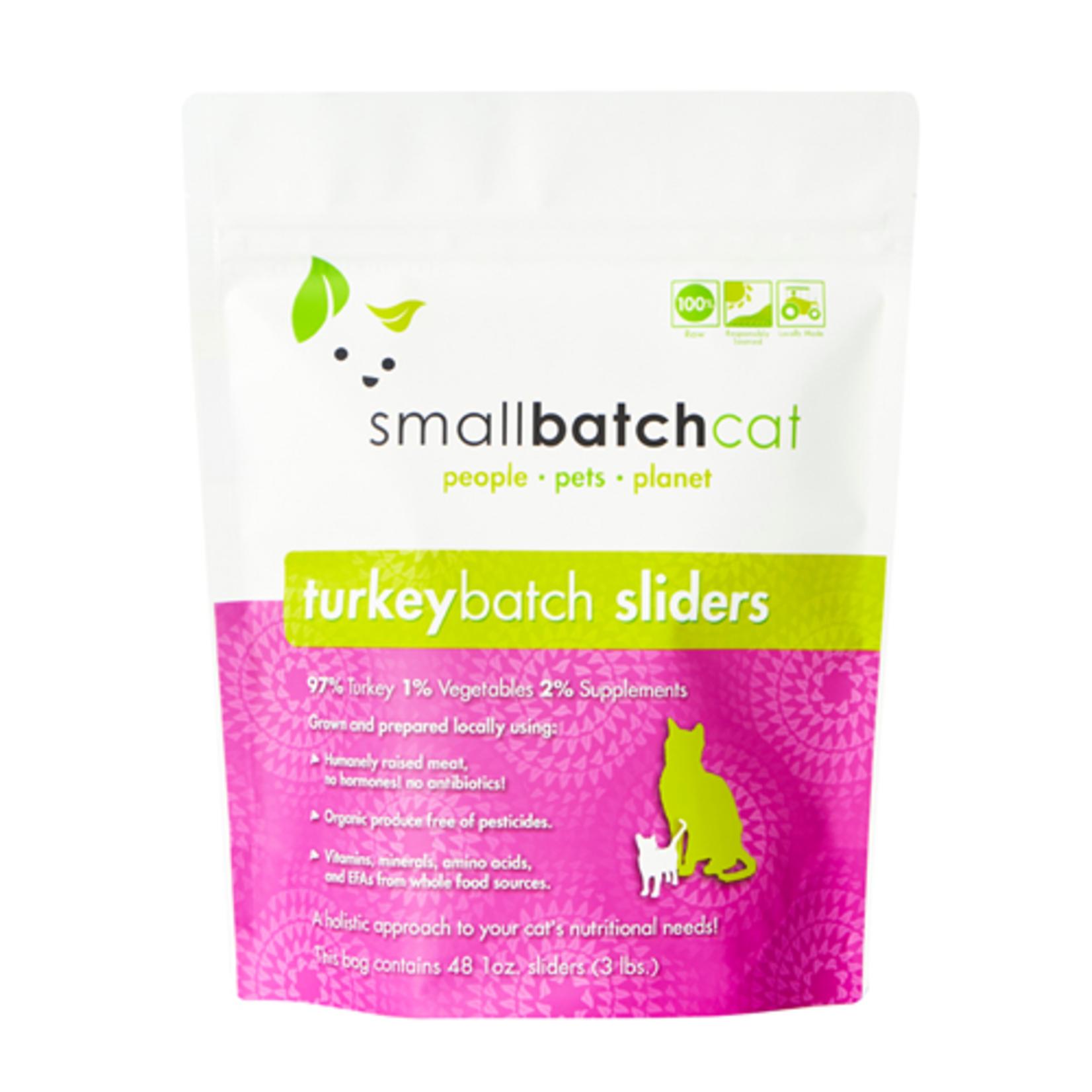 Small Batch Small Batch Cat Frozen Turkey Sliders 3#