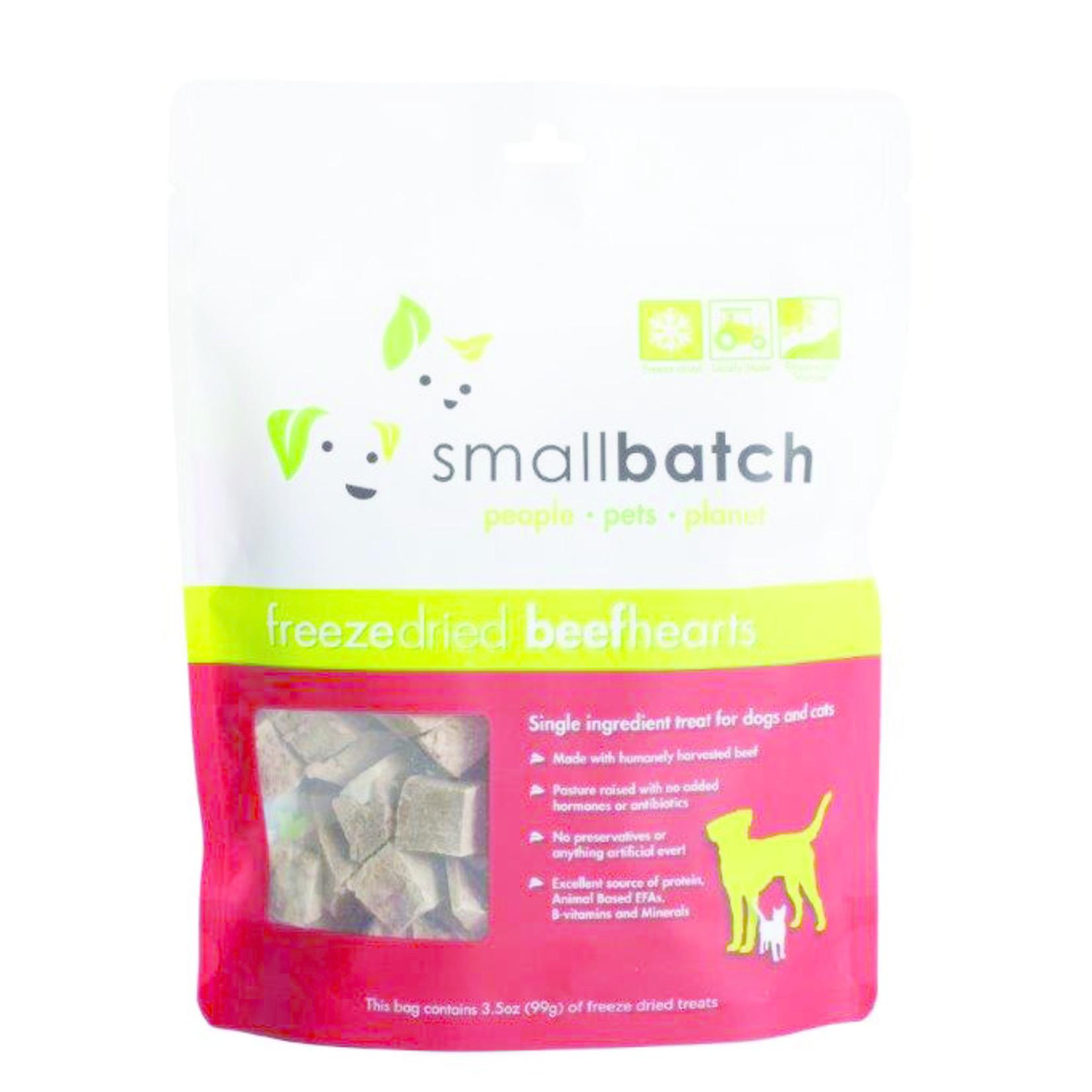 Small Batch Small Batch Freeze-dried Beef Hearts 3.5 OZ