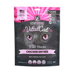 Vital Essentials Vital Essentials Cat Frozen Mini Patties Chicken 1.75#