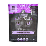 Vital Essentials Vital Essentials Cat Frozen Mini Patties Turkey 1.75#