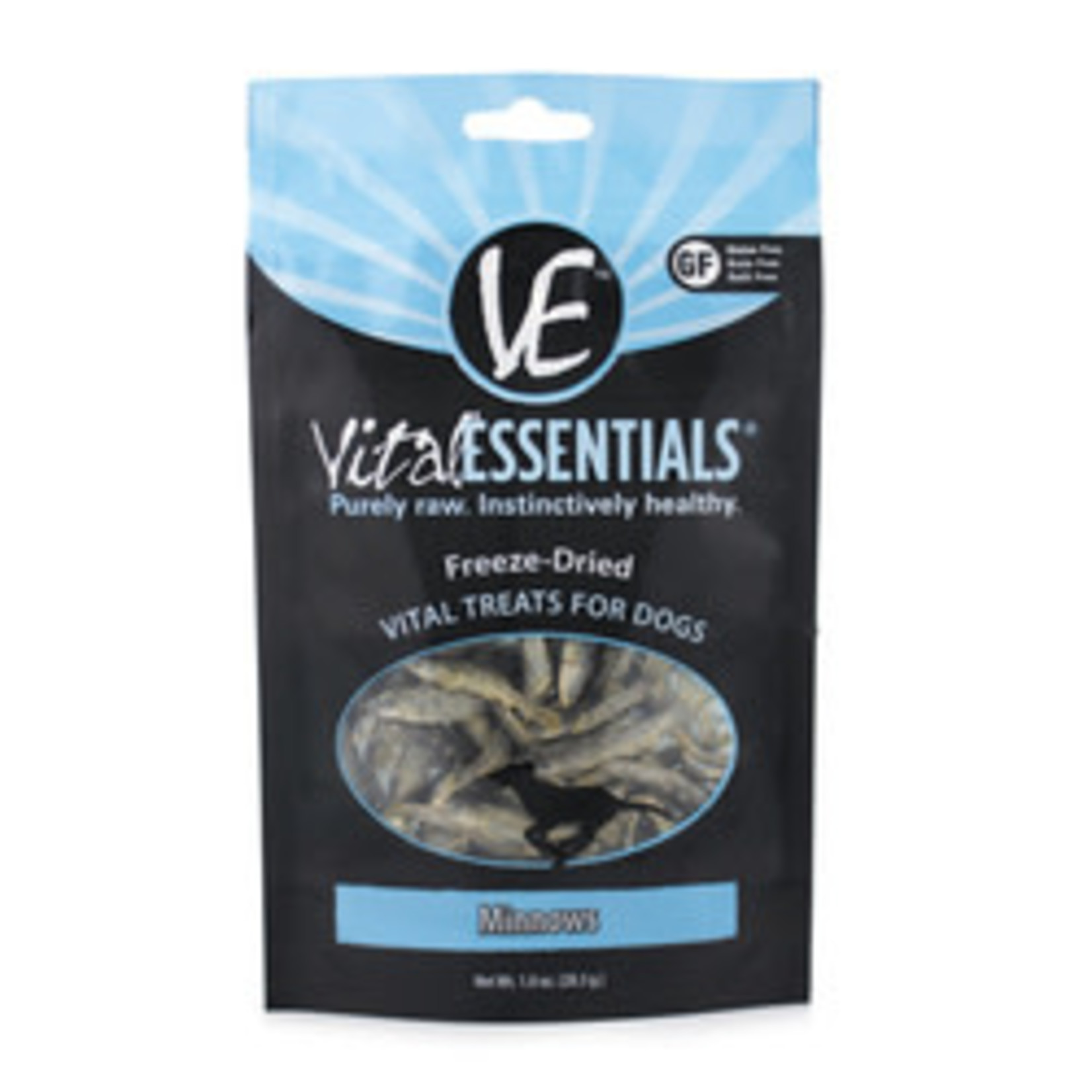Vital Essentials Vital Essentials Dog Freeze-dried Minnows 1 OZ