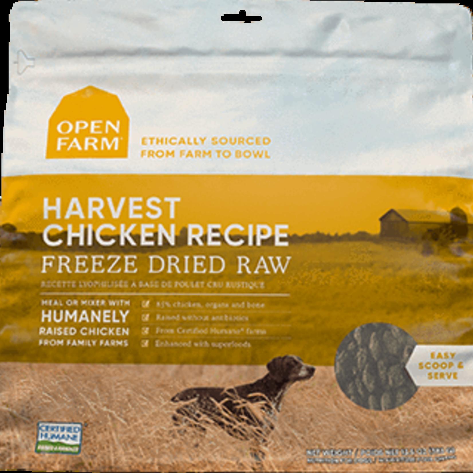 Open Farm Open Farm Dog Freeze-dried Harvest Chicken 13.5 OZ
