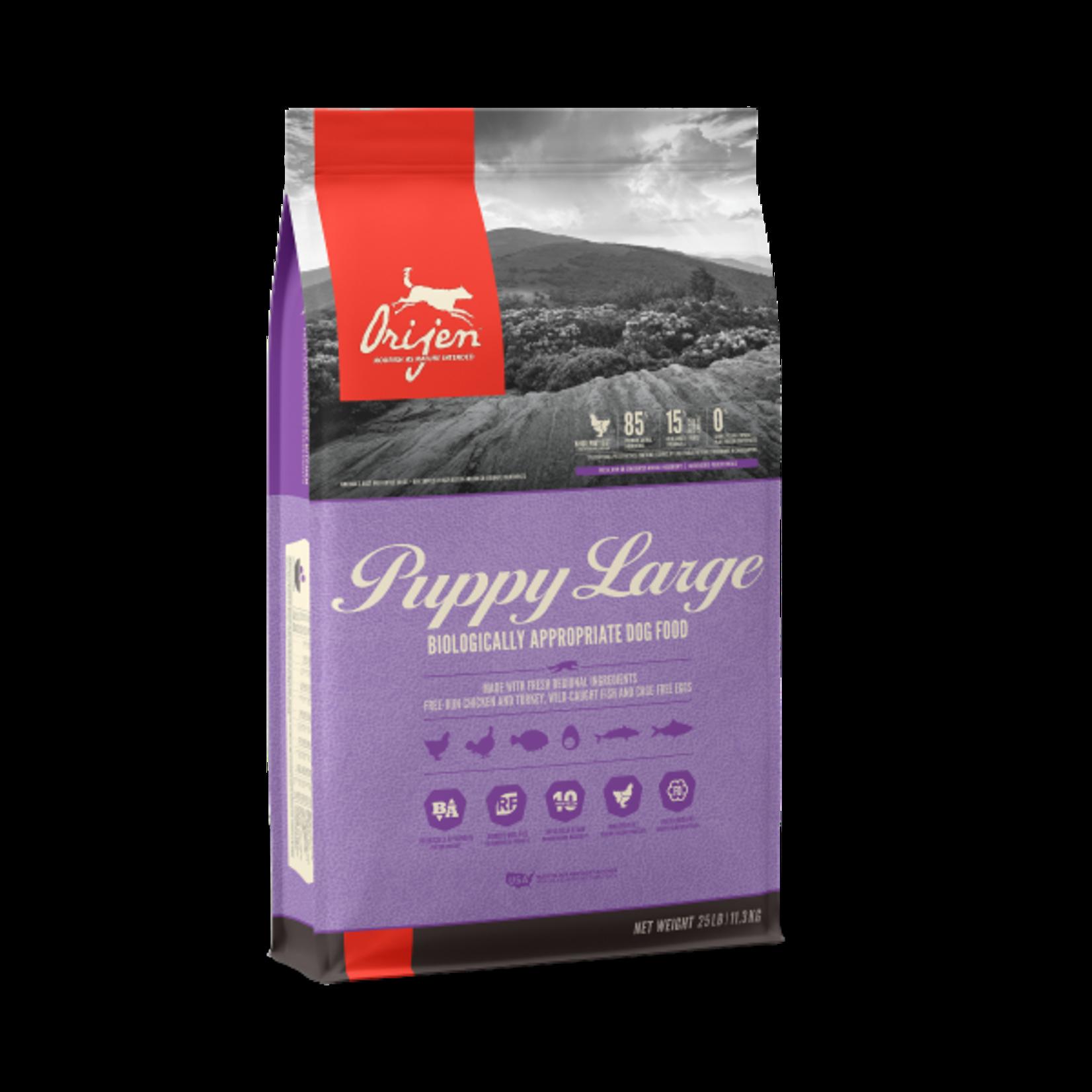 Champion Pet Foods Orijen Dog GF Puppy Large Breed 25#