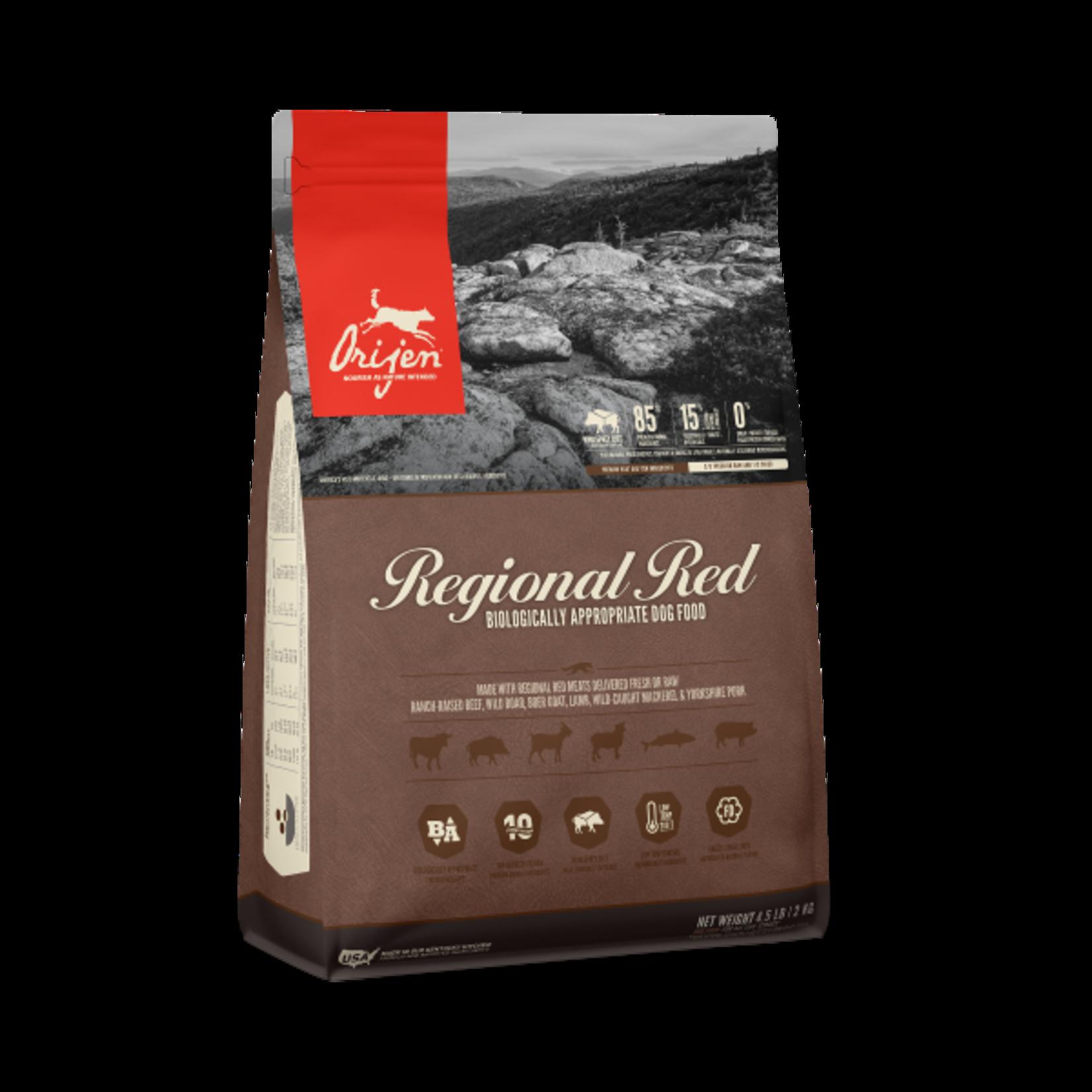 Champion Pet Foods Orijen Dog GF Regional Red 4.5#