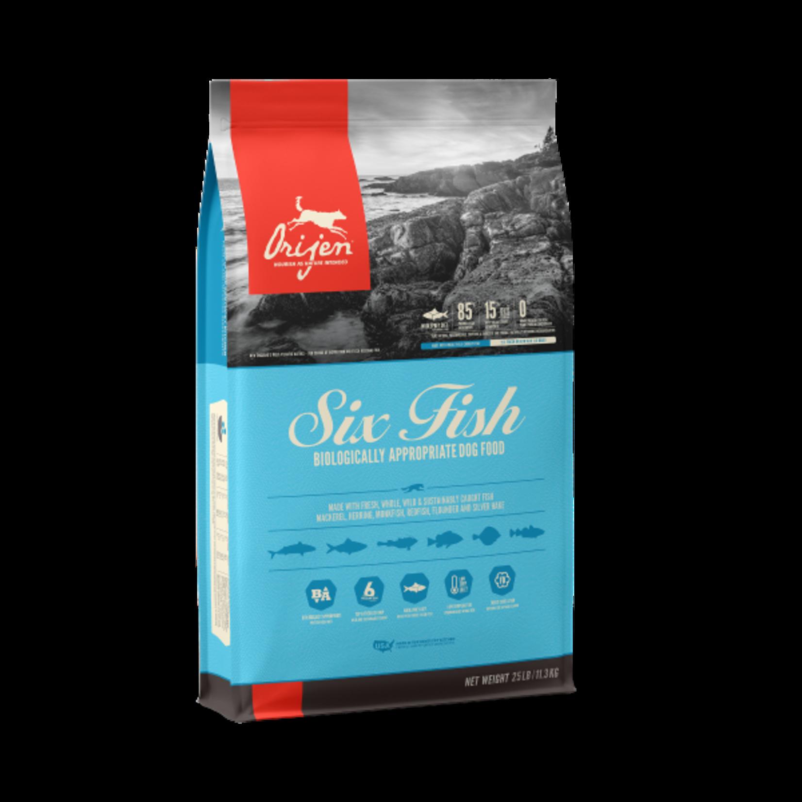 Champion Pet Foods Orijen Dog GF Six Fish 25#
