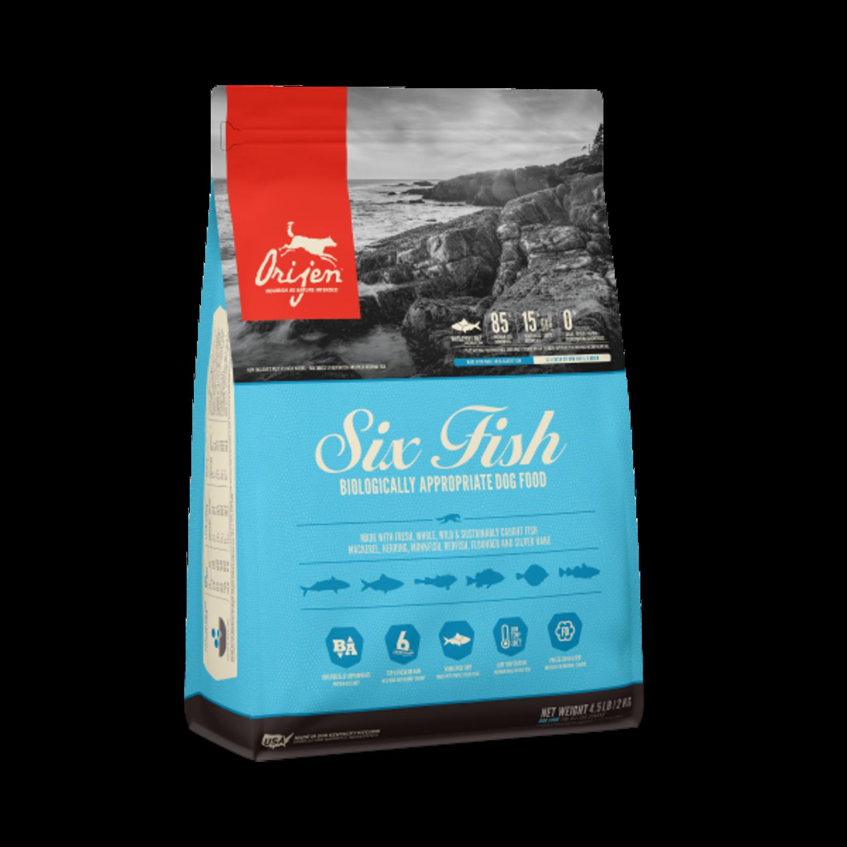 Champion Pet Foods Orijen Dog GF Six Fish 4.5#
