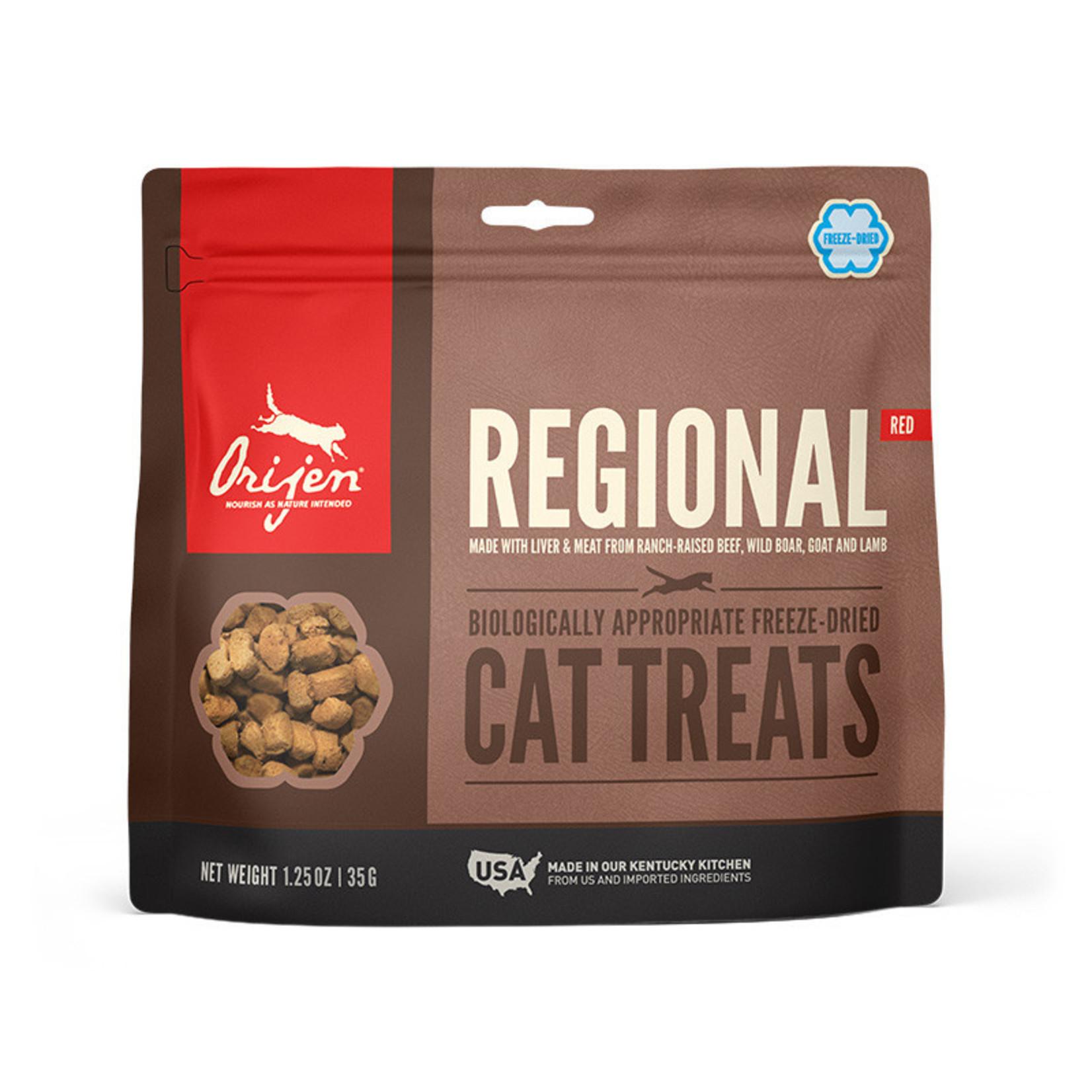Champion Pet Foods Orijen Cat Freeze-dried Regional Red Treat 1.25 OZ