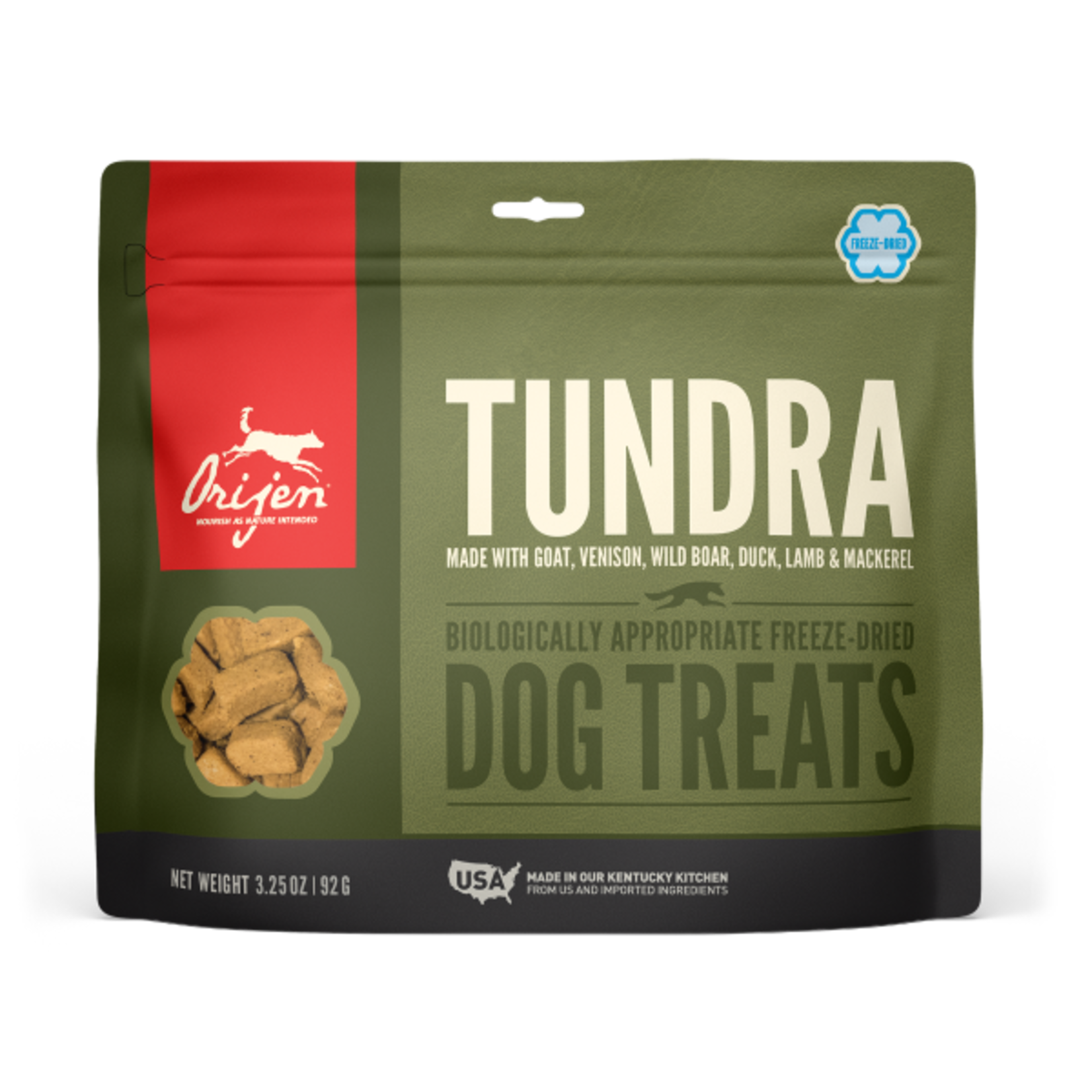 Champion Pet Foods Orijen Dog Freeze-dried Tundra Treat 3.25 OZ