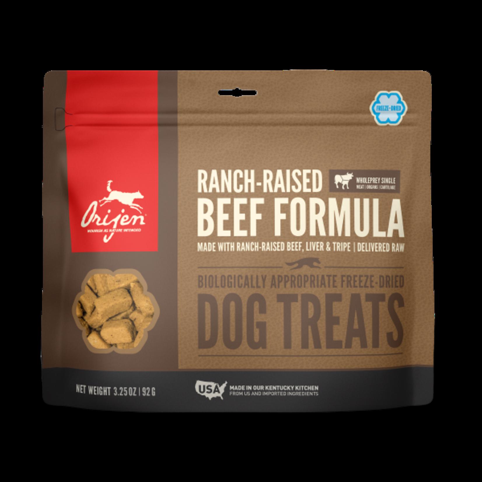 Champion Pet Foods Orijen Dog Freeze-dried Angus Beef Treat 3.25 OZ