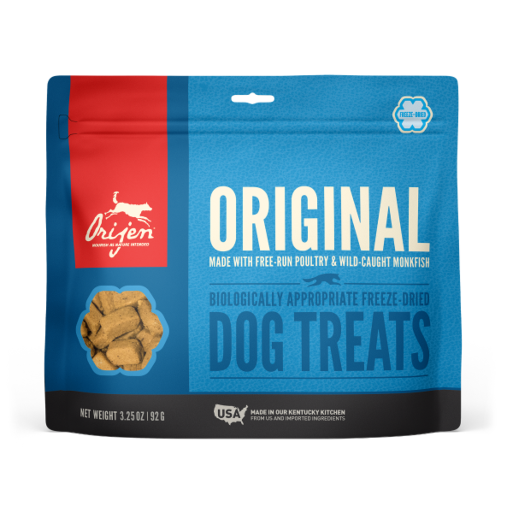 Champion Pet Foods Orijen Dog Freeze-dried Original Treat 3.25 OZ