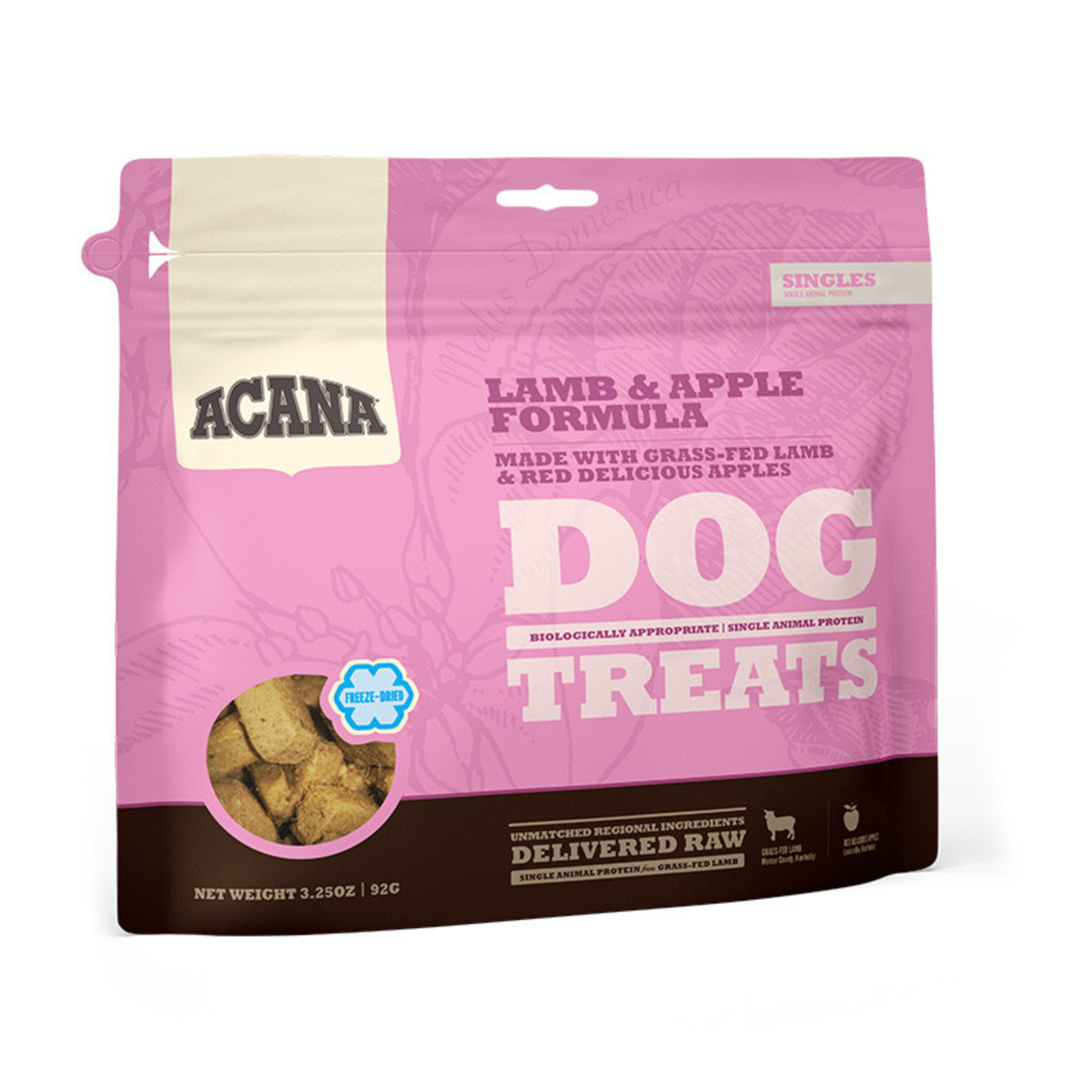 Champion Pet Foods Acana Dog Freeze-dried Lamb & Apple Treat 3.25 OZ