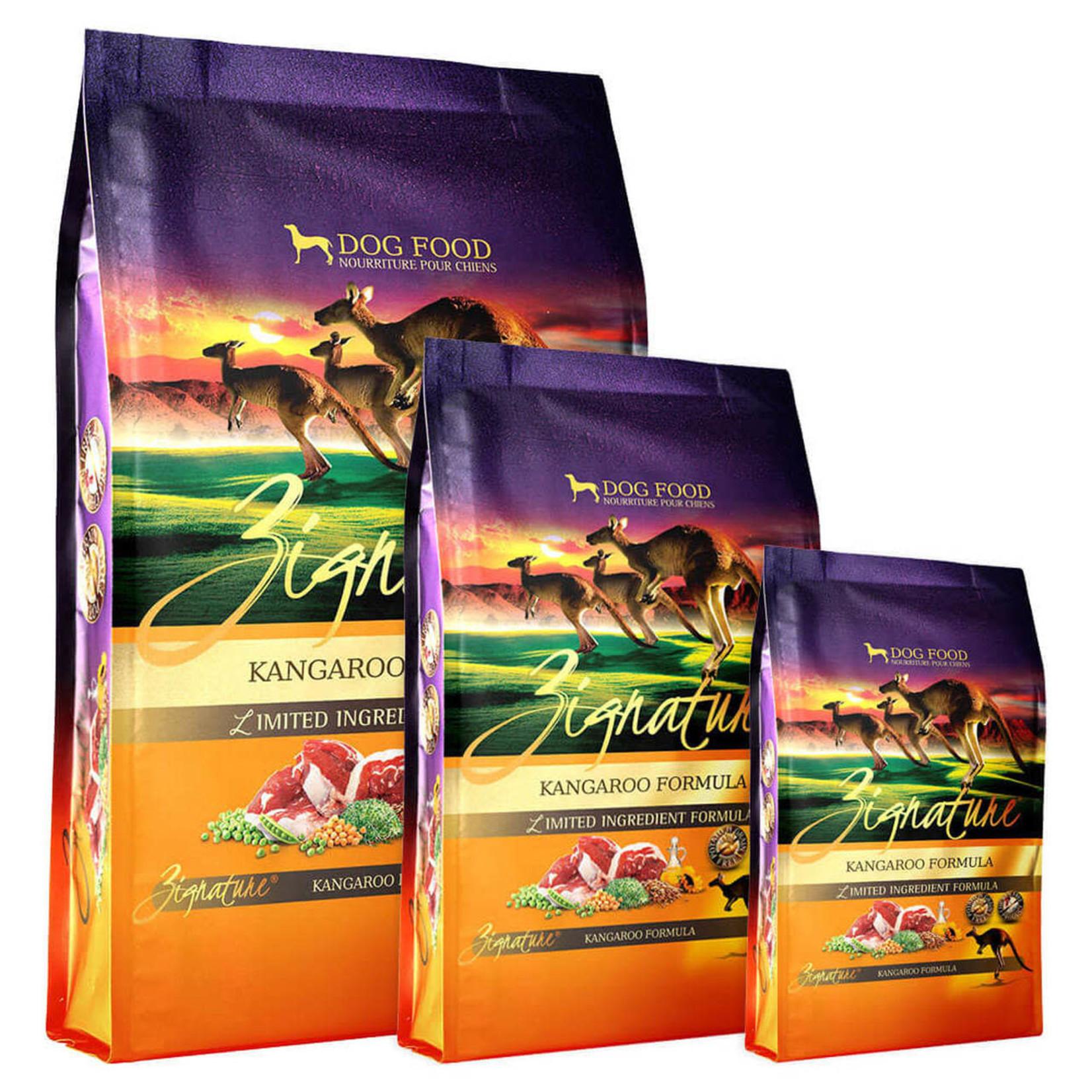 Zignature / Pets Global Zignature Dog Grain Free Kangaroo 4#