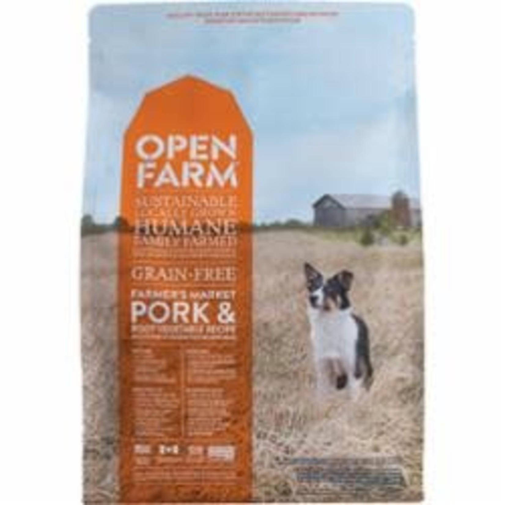 Open Farm Open Farm Dog Grain Free Pork & Veggie 4.5#
