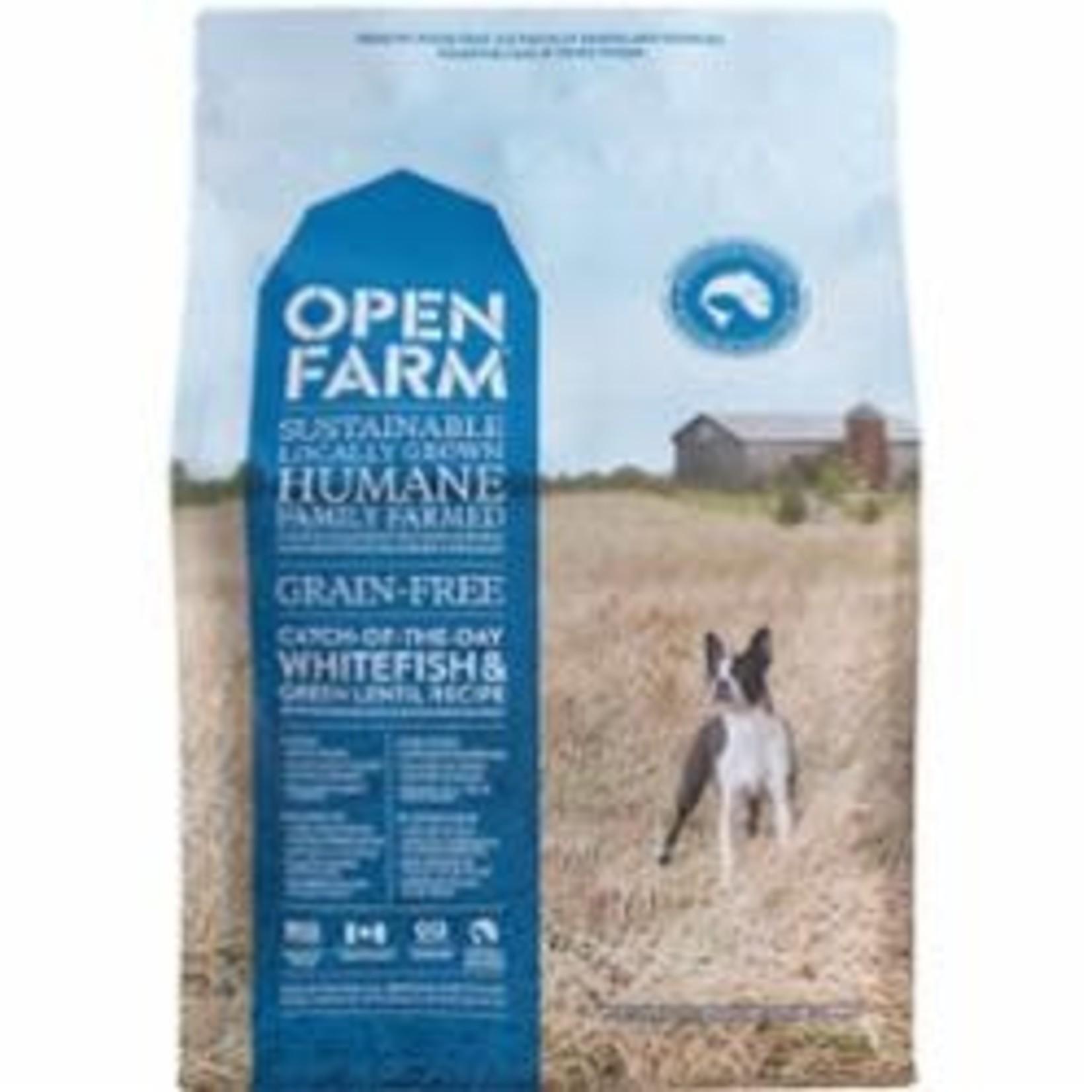 Open Farm Open Farm Dog Grain Free Whitefish 24#