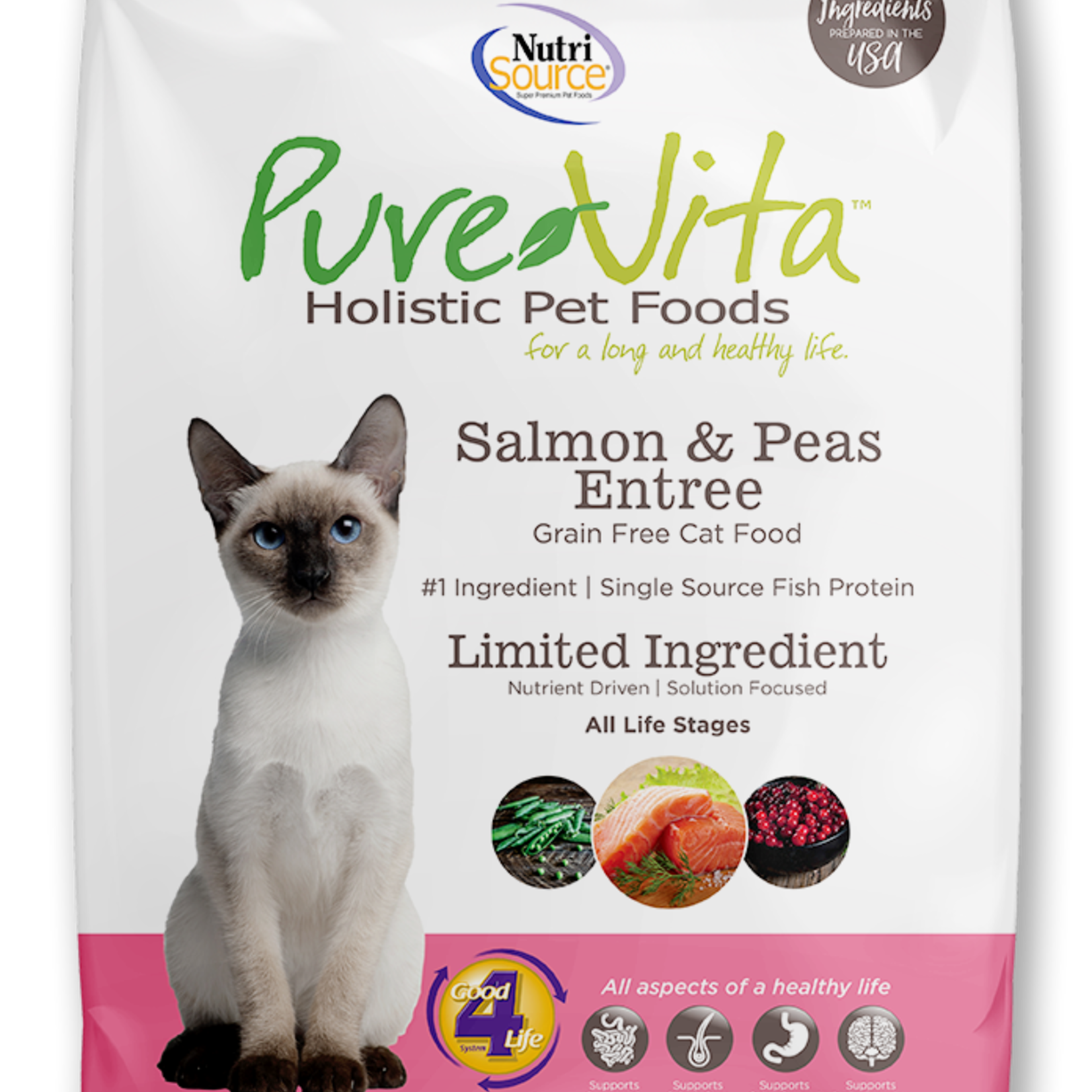 PureVita Pure Vita Cat GF Salmon 2.2#