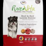 PureVita Pure Vita Dog GF Beef & Red Lentils 25#