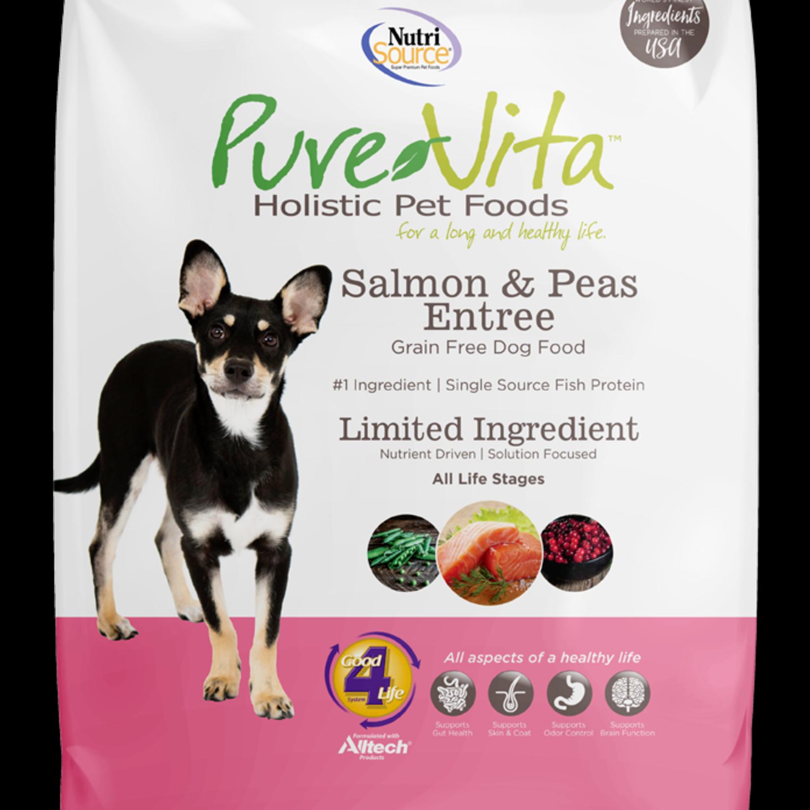 PureVita Pure Vita Dog GF Salmon & Peas 15#