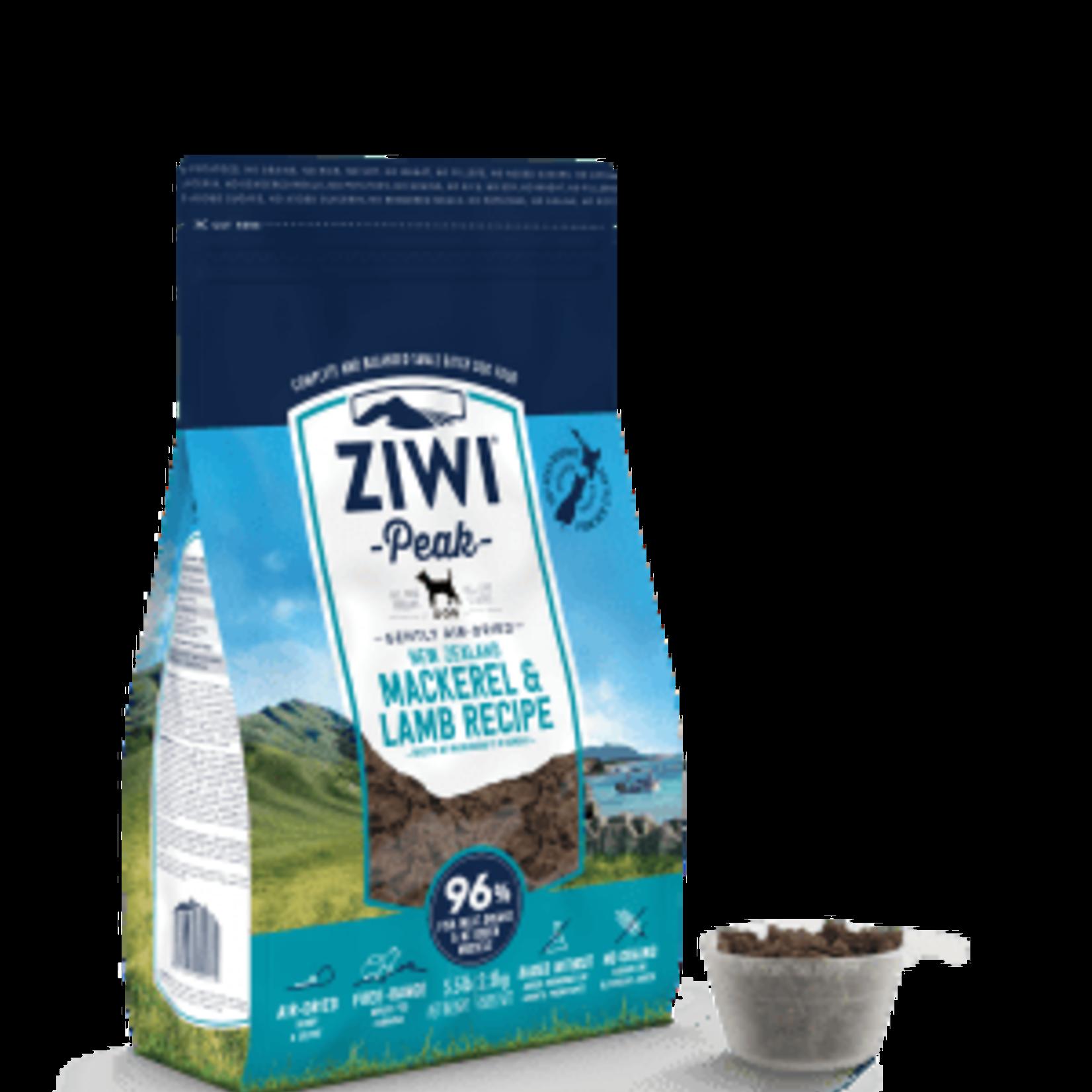 Ziwi Peak Ziwi Peak Dog Air-Dried Mackerel & Lamb 16 OZ