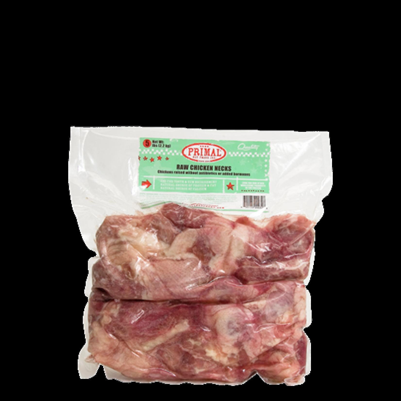 Primal Pet Foods Primal Frozen Chicken Necks 6 Pack