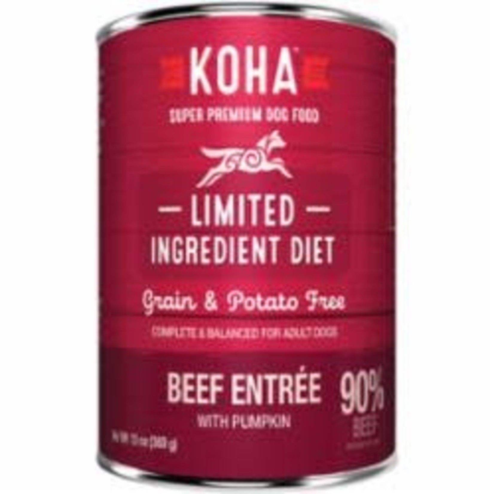 Koha Koha Dog Grain Free Limited Ingredient Beef Pate 13 OZ
