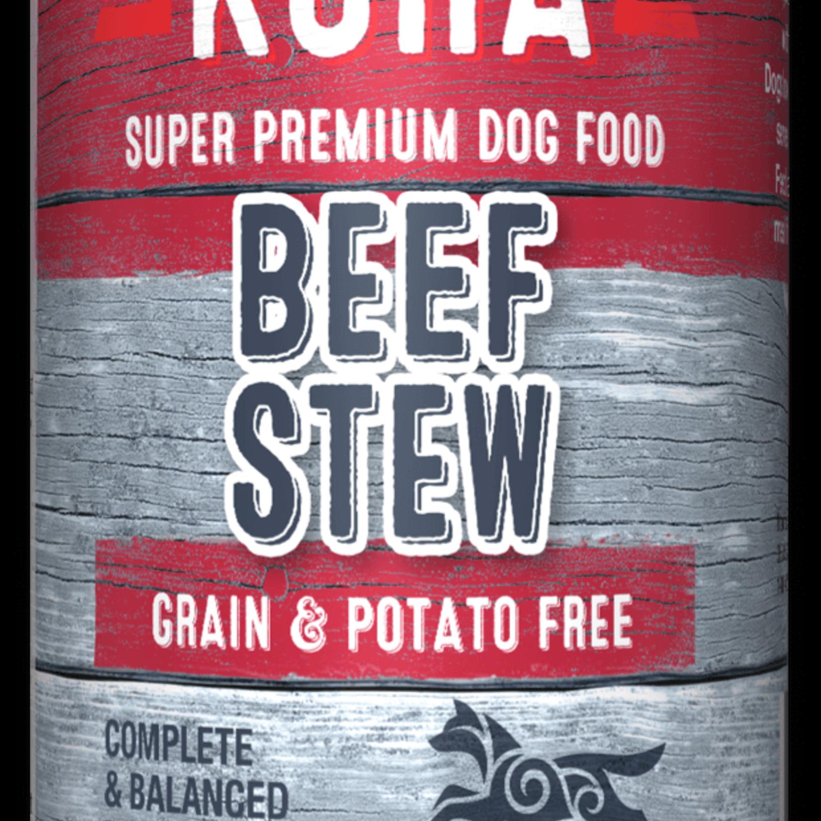Koha Koha Dog Grain Free Stew Beef 12.7 OZ