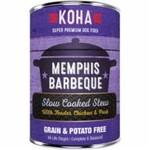 Koha Koha Dog GF Stew Memphis BBQ 12.7 OZ