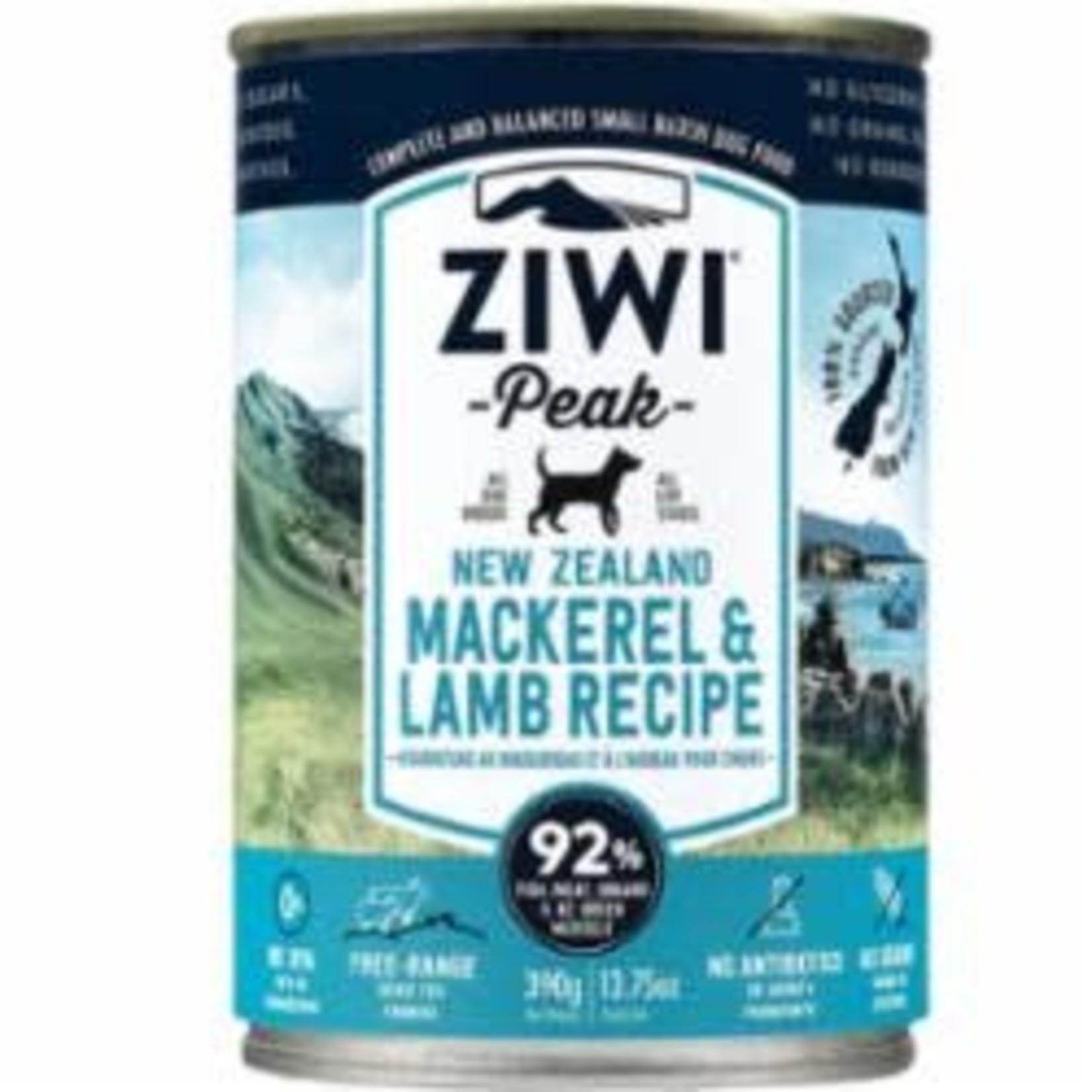 Ziwi Peak Ziwi Dog Grain Free Mackerel & Lamb 13.75 OZ