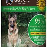 Daves Pet Food Dave's Dog GF 95% Premium Beef 13 OZ
