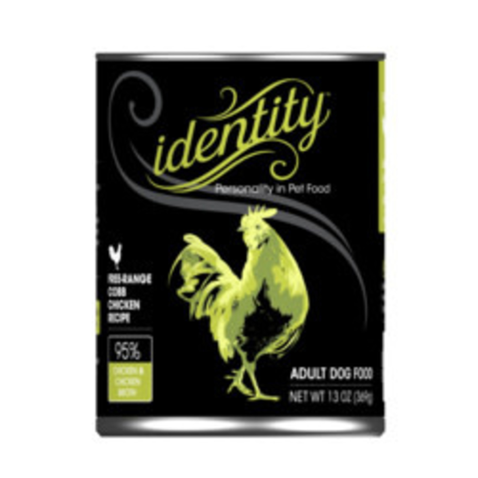 Identity Identity Dog Grain Free Cage Free Cobb Chicken 13 OZ