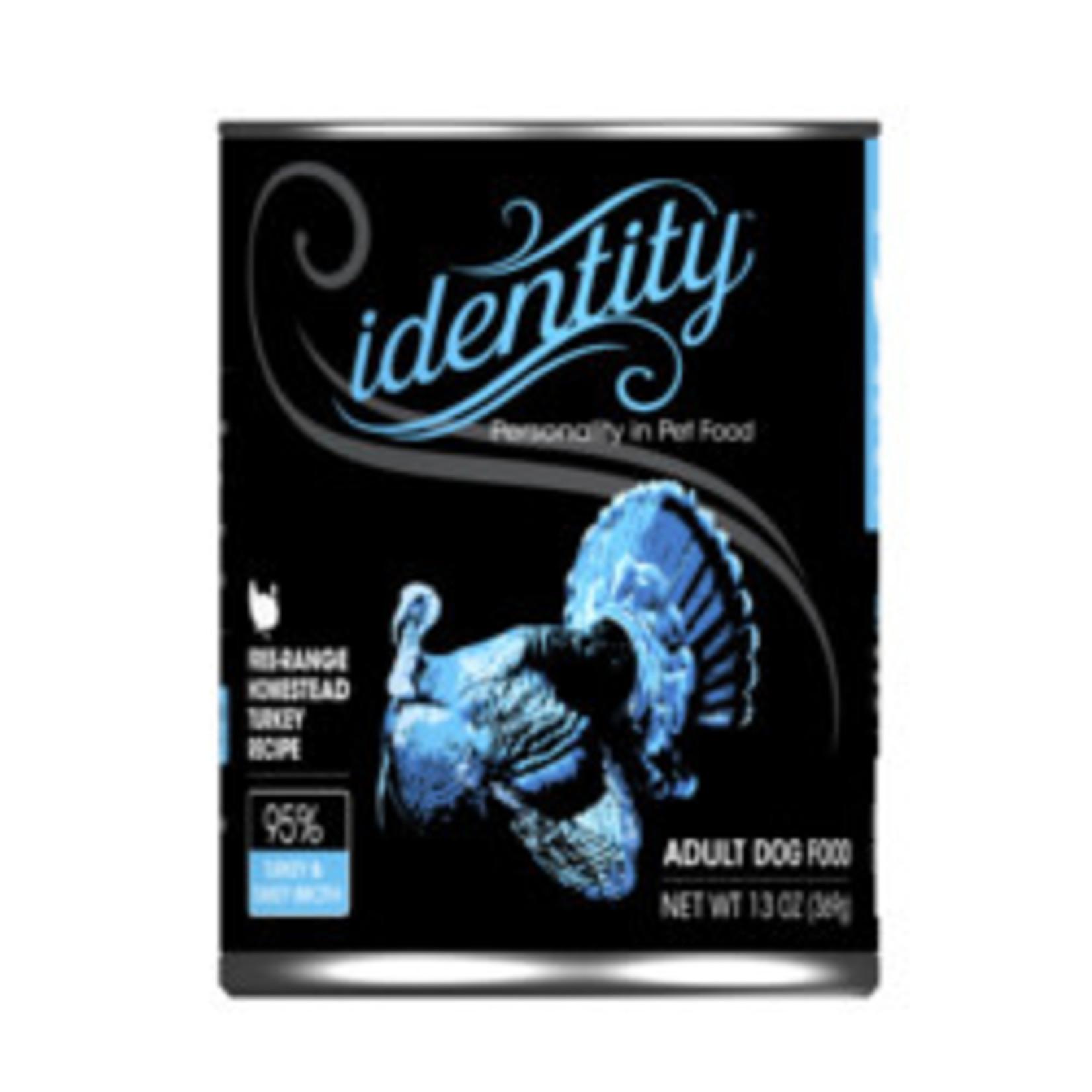 Identity Identity Dog Grain Free Cage Free Heritage Turkey 13 OZ