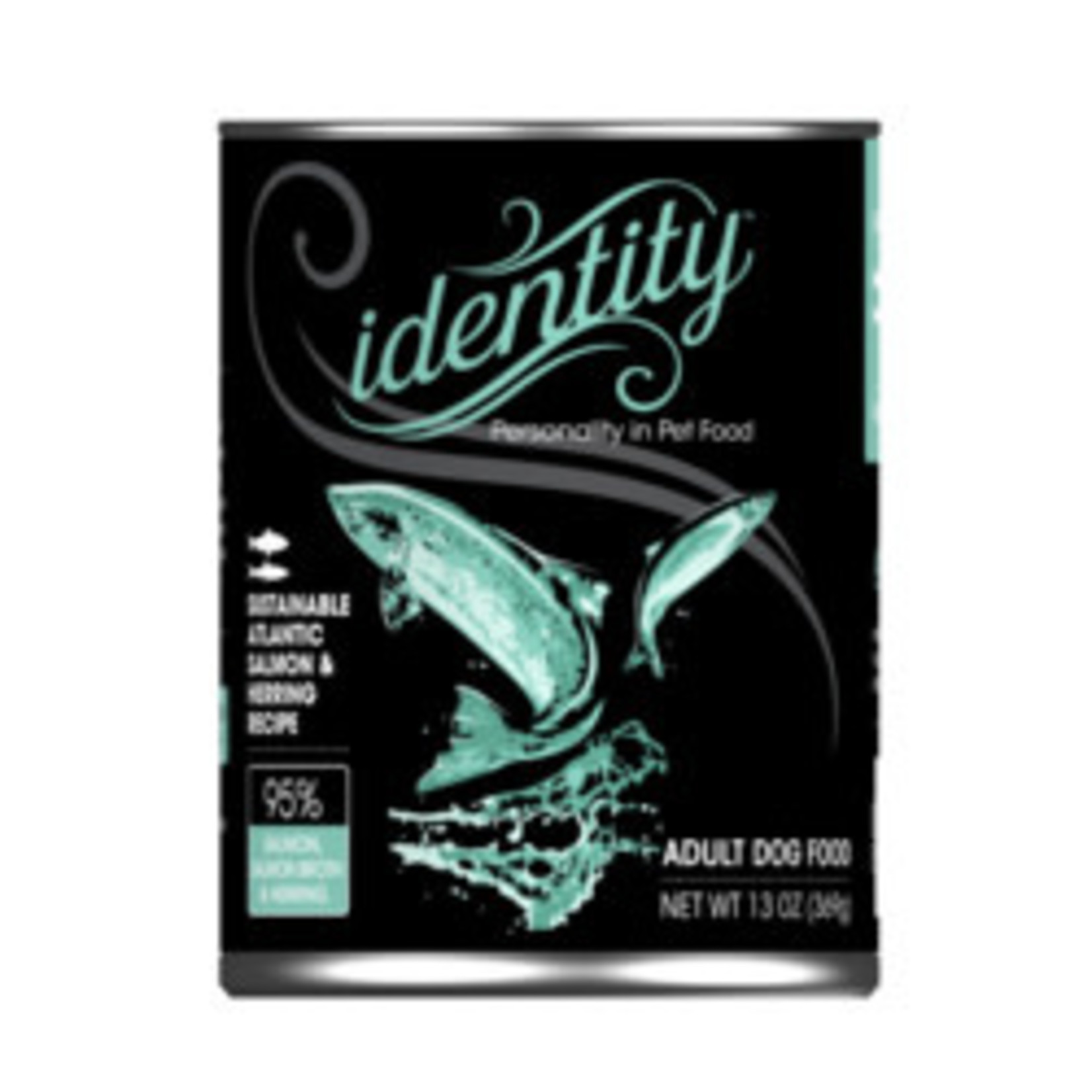 Identity Identity Dog Grain Free Wild Caught Salmon & Herring 13 OZ