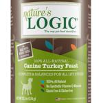 Natures Logic Natures Logic Dog GF Turkey Feast 13.2 OZ