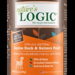 Natures Logic Natures Logic Dog GF Duck & Salmon Feast 13.2 OZ