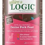 Natures Logic Natures Logic Dog GF Pork Feast 13.2 OZ