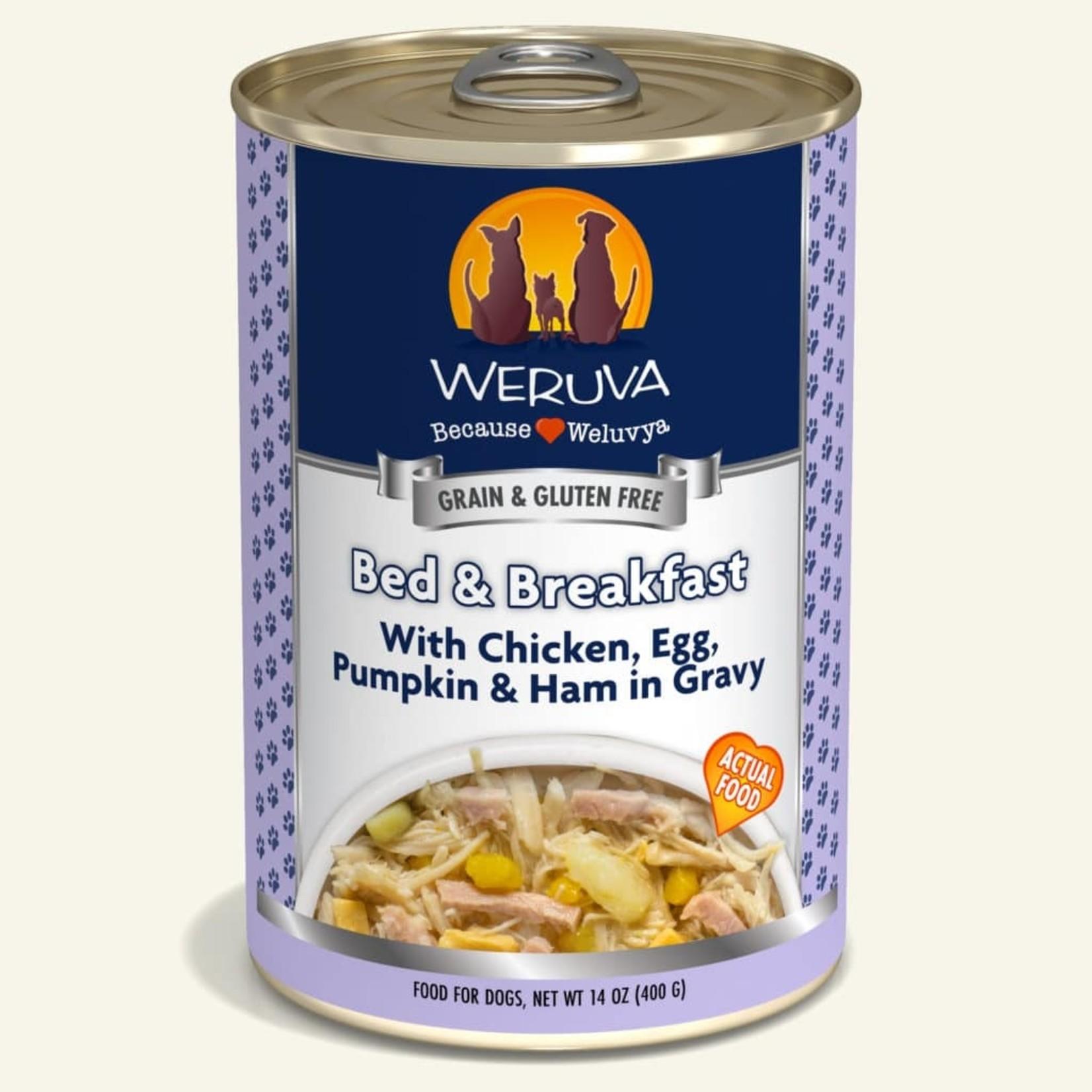 Weruva Inc. Weruva Dog Grain Free Bed & Breakfast 14 OZ