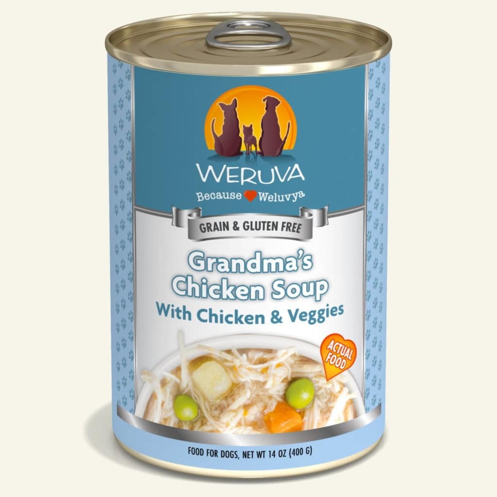 Weruva Inc. Weruva Dog Grain Free Grandma's Chicken Soup 14 OZ