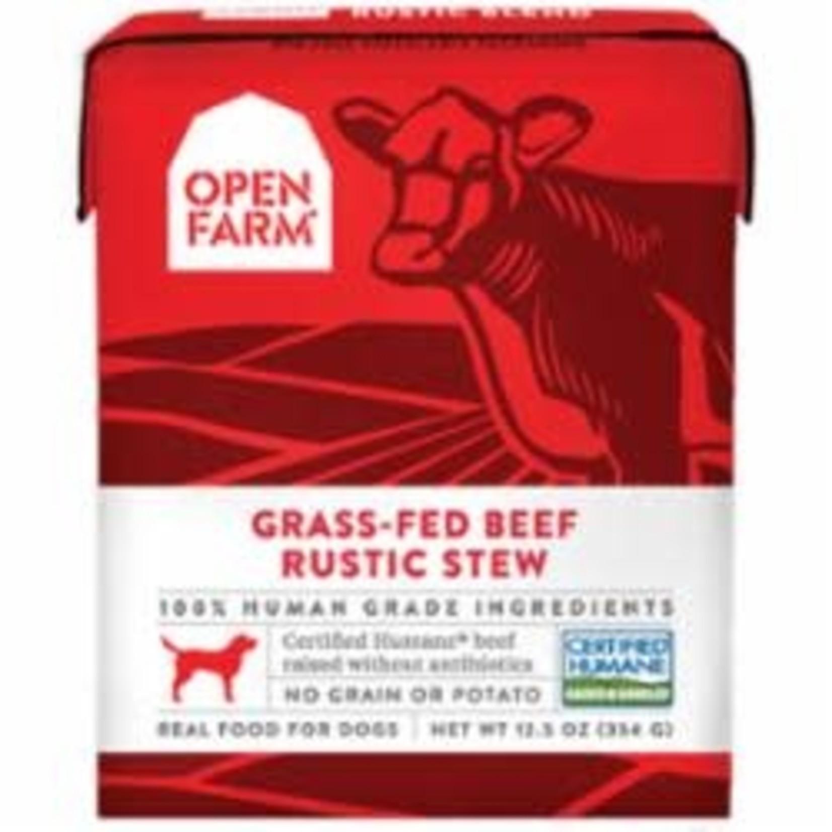 Open Farm Open Farm Dog Grain Free Beef Stew 12.5 OZ