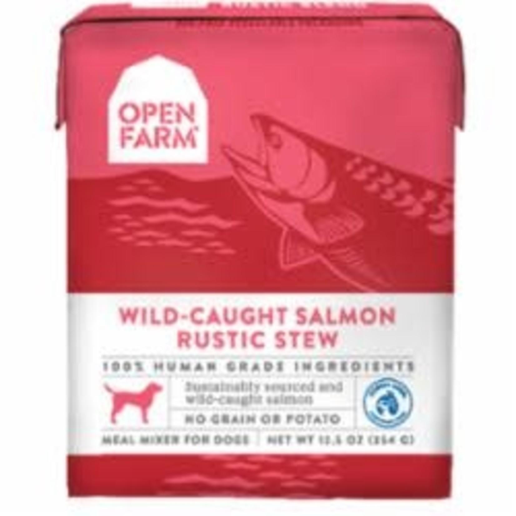 Open Farm Open Farm Dog Grain Free Wild Salmon Stew 12.5 OZ