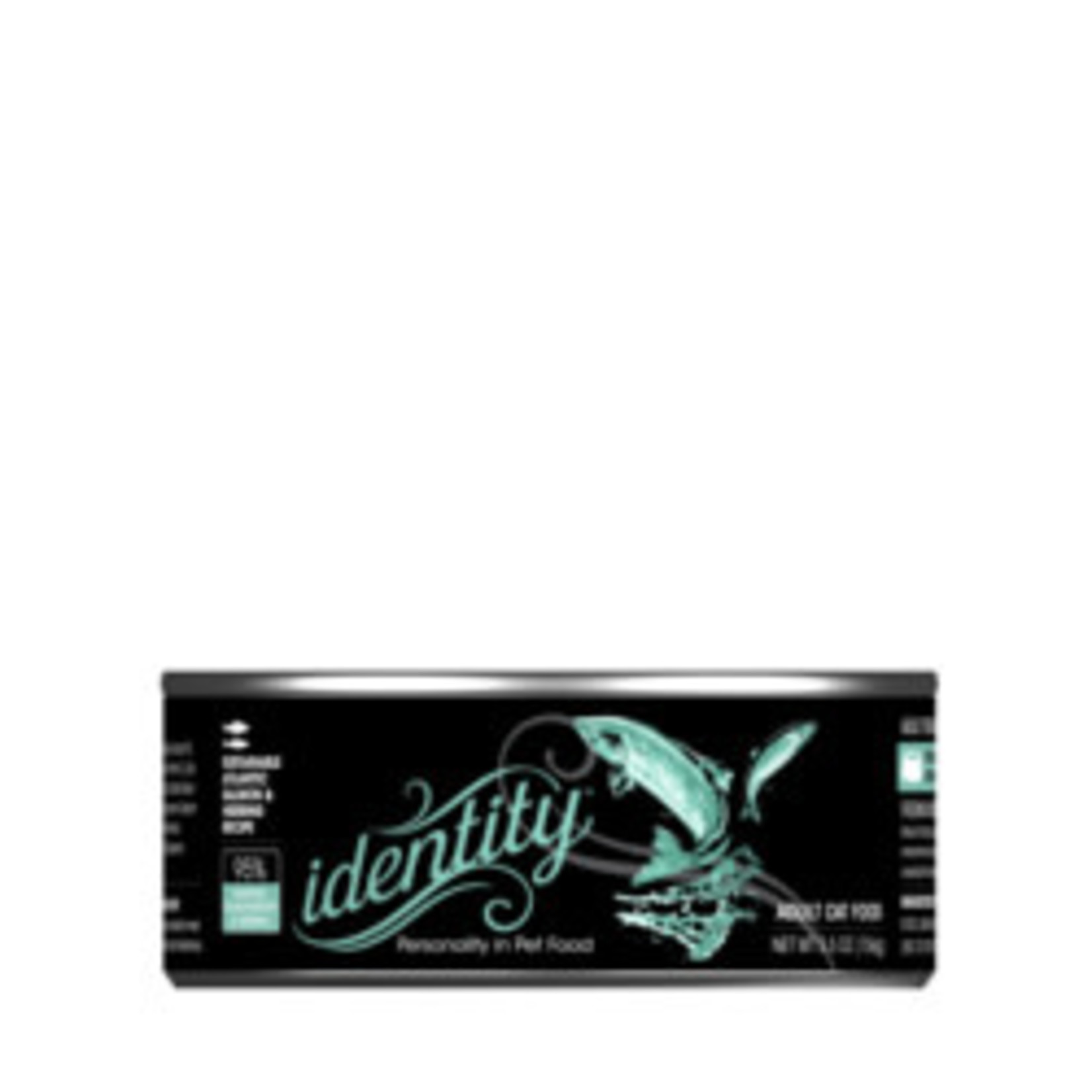 Identity Identity Cat GF Wild Caught Salmon & Herring 5.5 OZ