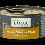 Natures Logic Natures Logic Cat GF Chicken Feast 5.5 OZ